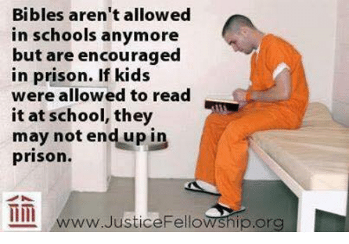 bibles in prison