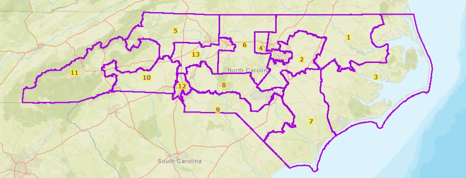 nc uscong districts